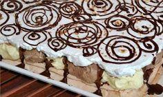 NapadyNavody.sk | Krémová KINDER torta Cookie Dough Brownies, Nutella, Animal Print Rug, Oreo, Food And Drink, Cookies, Cake, Recipes, Decor