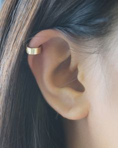 Simple Cuff Earring | Olive Yew for ear cuffs, custom jewelry and rose gold necklaces