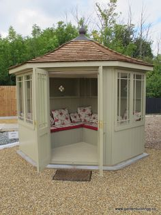 painted corner sheds summerhouse - Google Search