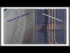 Alta Costura Clase 54B, Cómo pegar cuello sport a Blusa - YouTube