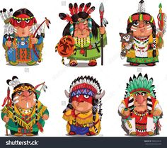 Find Cartoon Indians Funny Travesty Cartoon Characters stock images in HD and millions of other royalty-free stock photos, illustrations and vectors in the Shutterstock collection. Cute Cartoon Drawings, Cartoon Art, Cartoon Characters, Native American Face Paint, Indian Drawing, American Cartoons, Indian Funny, Character Design Animation, Drawing For Kids
