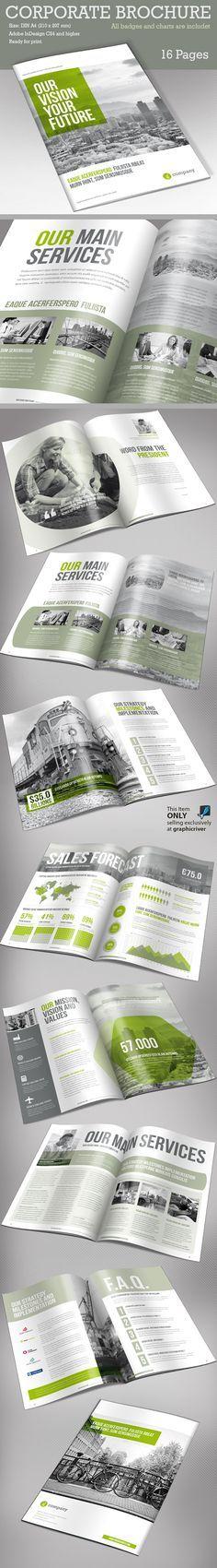 Business Brochure Templates – 18 Designs