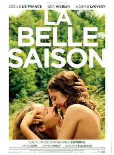 La Belle saison est un film de Catherine Corsini avec Cécile de France, Izïa Higelin. Synopsis : 1971. Delphine, fille de paysans, monte à Paris pour s'émanciper du carcan familial et gagner son indépendance financière. Carole est parisienne. En c