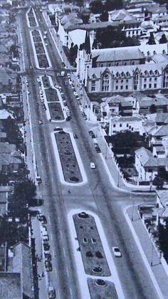Calle 72 en 1959. Al lado de la porciúncula