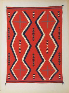 Portfolio of Navajo Blankets Navajo Weaving, Navajo Rugs, Native American Artifacts, Native American Beading, Vintage Blanket, Fabric Rug, Textiles, Textile Art, Textile Design