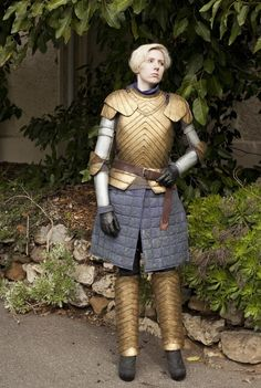 """""""This is my Brienne of Tarth costume I made two years ago. It's still one of my…"""