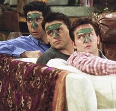 Sticker with one of the funniest moments in FRIENDS TV show. Ross Geller Joey Triviani and Chandler Bing. Decorate your back to school stationary laptop or phone with this meme sticker. The post FRIENDS funny sticker appeared first on Skin care. Friends Tv Show, Tv: Friends, Serie Friends, Friends Moments, Funny Friends, Chandler Friends, Friends Scenes, Friends Funniest Moments, Friends Cast