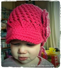 Hat, design is from Ira Rott, made by me.  My model is not so happy taken her picture