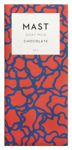 Mast Brothers chocolate packaging - Fonts In Use