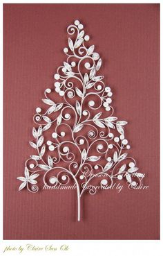 2014 Quilling Christmas tree paper craft for home decor - Nativity Diy How to Make Christmas Tree Paper Craft, Quilling Christmas, Handmade Christmas Decorations, Paper Quilling Patterns, Quilling Paper Craft, Paper Crafts Origami, Paper Crafting, Quilling Comb, Neli Quilling