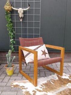 Vintage Karin Mobring fauteuil Zweeds design retro stoel 70