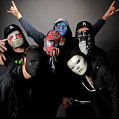 """This is another record titled """"Another Way Out"""" by award-winning American rap rock band, Hollywood Undead. Still fresh out of the oven. Music Love, Music Is Life, Music Mix, Top Ten Songs, Rap Metal, Falling In Reverse, King Kong, My Favorite Music, Favorite Things"""