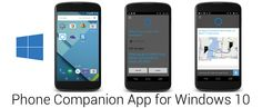 Microsoft launches Phone Companion app which make Windows 10 desktops able to connect Android and iOS smartphones.
