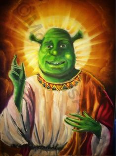 O Holy Shrek - Mega Memes LOL brings you the most amusing, over the top, best memes, quotes, and funny pics. Memes Shrek, Memes Humor, Shrek Funny, Stupid Funny Memes, Funny Relatable Memes, Hilarious, Hmm Meme, Me Too Meme, Reaction Pictures