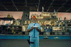 """The Life Aquatic with Steve Zissou,"" 2004, Wes Anderson. ""Let me tell you about my boat."""