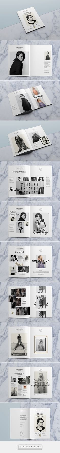 Studio Lookbook on Behance - created via http://pinthemall.net