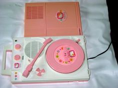 (Still) Desperately Seeking Hello Kitty Columbia portable record player