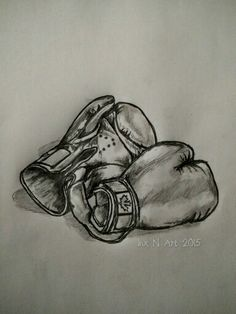 Boxing glove Canada tattoo /art sketch by - Ranz