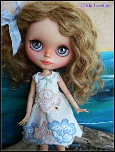 """BLYTHE DOLL Dress - OOAK - """" by CooeeChris on Etsy"""