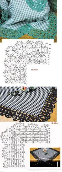 Artesanía, Manualidades, Labores - Gráficos De Crochet