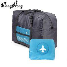 60c91095367f GINIA Waterproof Nylon Foldaway Storage Duffel Bag For Travel
