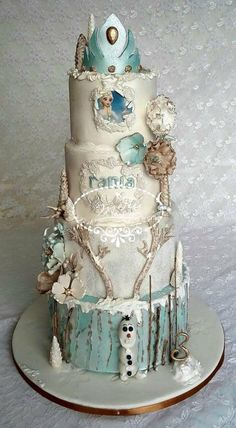 FROZEN CAKE by Fées Maison (AHMADI)