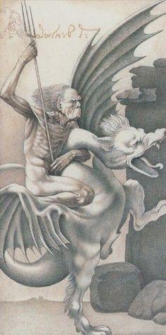 XV. The Devil - Da Vinci Tarot