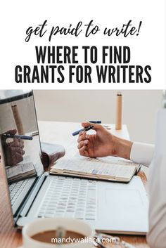 Where to Find Grants for Your Next Writing Project (Get Paid to Write? Yes writing tips + get your writing project funded Make Money Writing, Writing Advice, Writing Resources, Writing Help, Writing A Book, Writing Prompts, Better Writing, Grant Proposal Writing, Grant Writing
