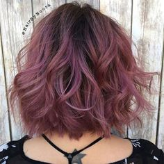 60 Sweet Mauve Hair Color Ideas, You Should Try This Year 40