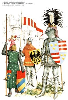 German knights late 14th early 15th century