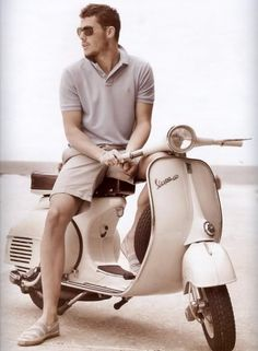 This reminds me of when I had my 1972 Vespa 180 Rally. I rode that thing every damn day for 5 years.