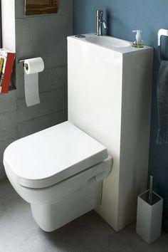 Toilette Leroy Merlin avec lave main intégré, autour de 600€