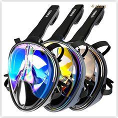 Enkeeo Full Face Snorkel Mask | sporting-goods $0 - $100 0 - 100 Best Mask Enkeeo Face Full Mask Rs.5000 - Rs.5200 Snorkel Sports USA