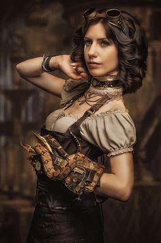 Steampunk girl модель Ева Сирин фото Рыжая Кошкана фото Александра Иванченко