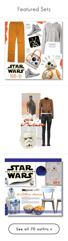 """Featured Sets"" by polyvore ❤ liked on Polyvore featuring Faith Connexion, CJ by Cookie Johnson, Old Navy, Converse, starwars, contestentry, BB8, Balenciaga, Gucci and Dr. Martens"