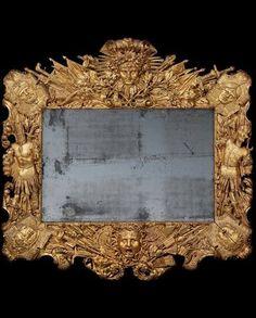 A LOUIS XIV GILTWOOD FRAME CIRCA 1700 Price realised GBP 193,250