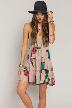 Sun Dress Perfection #trendygirl