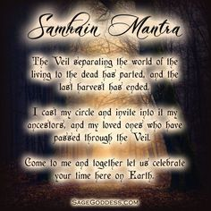 Share the mystery and magic of the Shadow Season with Sage Goddess E-cards for Halloween, Samhain, and Día de los Muertos, and All Hallow's Eve! Samhain Ritual, Wicca Witchcraft, Pagan Witch, Witches, Wiccan Art, Wiccan Crafts, Magick Spells, Sea Witch, Samhain Traditions