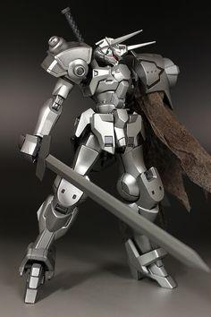 GUNDAM GUY: HG 1/144 Silver Knight Gastima - Customized Build