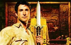 Noah Wyle and Rebecca Romijn in The Librarians Series on TNT - TNT has greenlit 10 episodes for a series based on The Librarians franchise, slated to air in late 2014.
