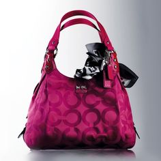 COACH Purse - Madison Collection. I have this in black but I LOVE this color!!!