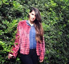 Erase una vez...mi estilo!!: Denim look&fur coat!