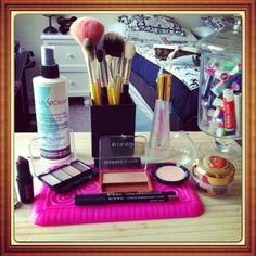 My FOTD using mostly Bissu cosmetics