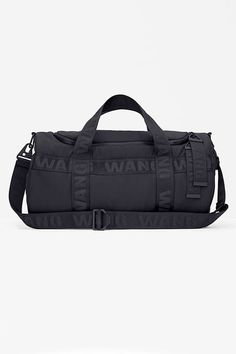 The ENTIRE Alexander Wang For H&M Collection — Right Here! #refinery29  http://www.refinery29.com/2014/10/76326/alexander-wang-hm-entire-collection-pictures#slide72  Alexander Wang for H&M Duffle back, $129, available on November 6 at H&M.