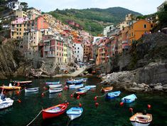 Riomaggiore-part of the 5 villages in Cinque Terre