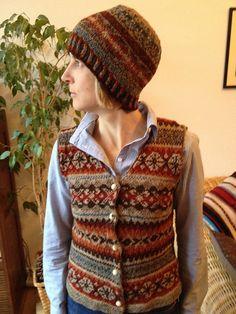 Ravelry: #5 Woman's Fair Isle Vest pattern by Lori Ihnen