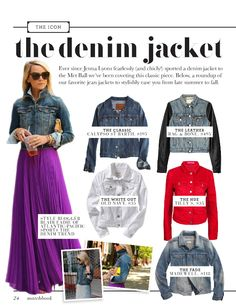 The Icon: The Denim Jacket