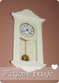 Stary zegar po metamorfozie