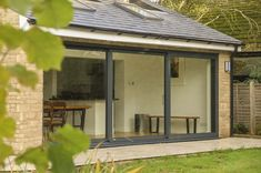 Working with our client in Twyford, we designed this 45 square meter contemporary Orangery to incorporate cooking, eating and relaxing. Rabbit Shed, Outdoor Office, Open Plan Living, Extensions, Outdoor Structures, Windows, Contemporary, Porches, Garden