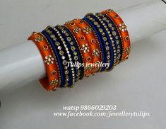 Kundan Bangles, Silk Bangles, Bridal Bangles, Silk Thread Bangles Design, Thread Jewellery, Thread Work, Bangle Set, Bengal, Jewelry Design